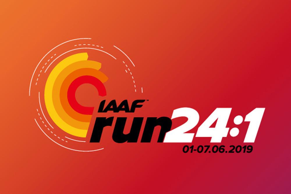 """IAAF """"Run 24-1"""""""